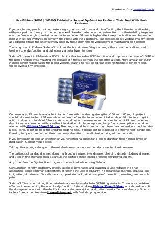 Buy fildena 50 mg 100 mg