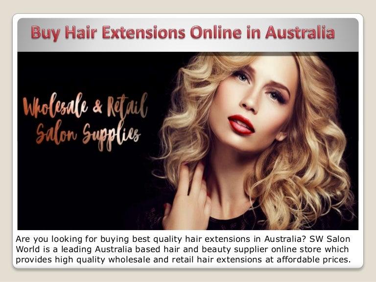 Buy Hair Extensions Online In Australia