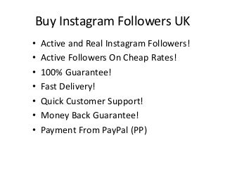 How to Buy Instagram Followers and Likes Complete Guide