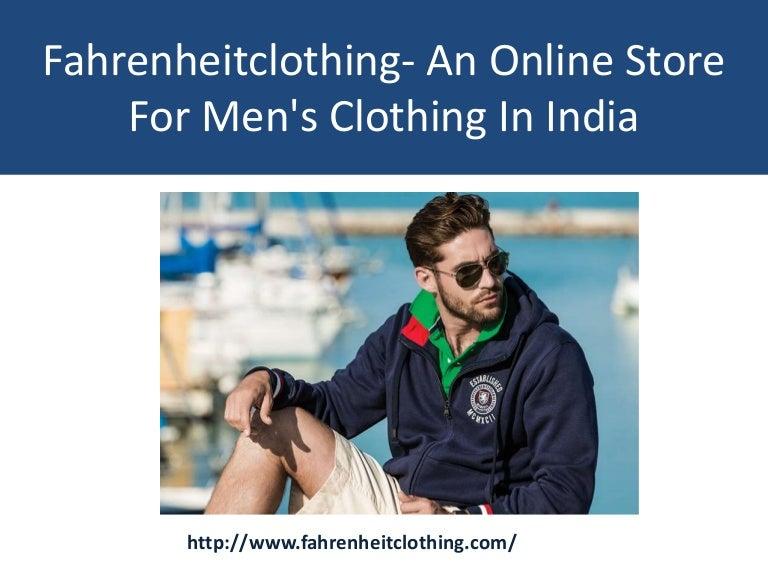 Buy men's clothing online