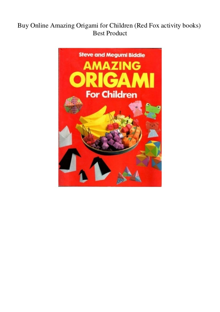 Origami Fish and Other Sea Creatures Kit: 20 Original Models by ... | 1087x768