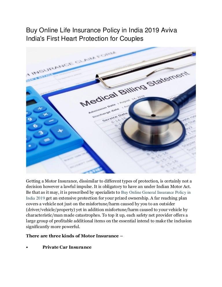 Buy Online Life Insurance Policy in India 2019 Aviva India ...