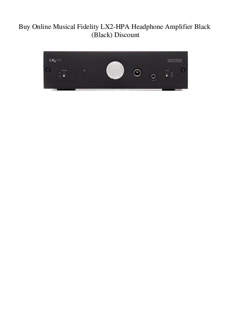 Musical Fidelity Home Audio Amplifiers and Preamps Musical ...