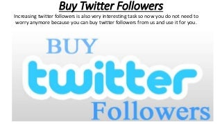 Buy Twitter Followers - buyourpromo.com