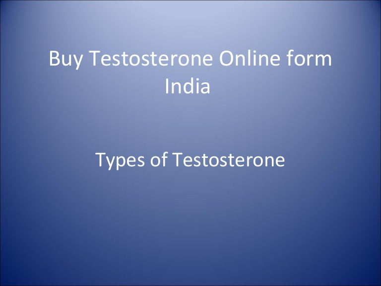 Buy testosterone online form india