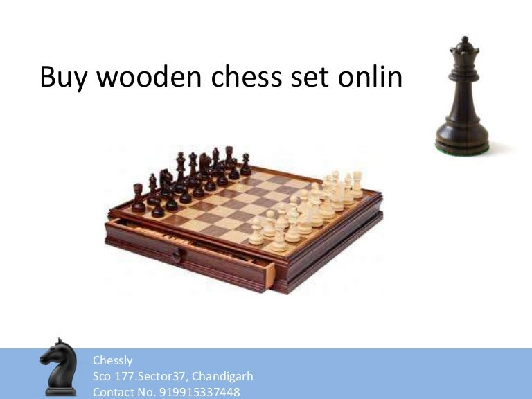 Buy wooden chess set online ppt