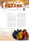 Buzzer n°3, newsletter du Comité de Basket Ball du Bas-Rhin en Alsace