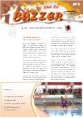 Buzzer n°7 - La newsletter du Comité de Basket ball du Bas-Rhin