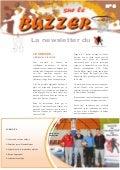 Sur le Buzzer n°8 - La newsletter du CD67