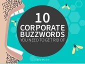 10 Corporate Buzzwords You Need To Get Rid Of