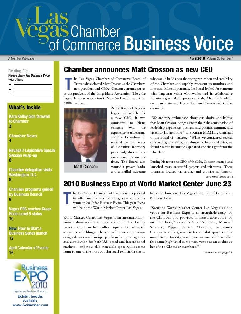 Business Voice April 2010