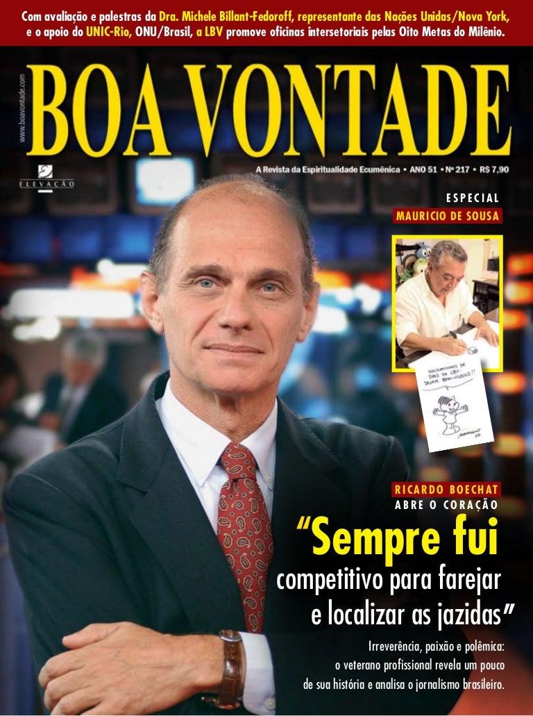b44c7263ced6d Revista Boa Vontade, edição 217
