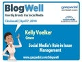 BlogWell Cincinnatti Social Media Case Study: Graco, presented by Kelly Voelker