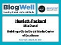 BlogWell New York Social Media Case Study: Hewlett-Packard, presented by Mia Dand