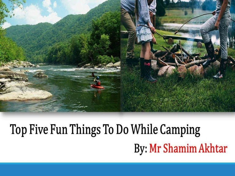 Things To Do With Kids While Camping