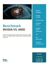 Benchmark of AI edge devices: powered by NVIDIA Quadro P1000 vs. AMD industry customized working sample GfX