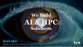 byteLAKE: AI and HPC solutions
