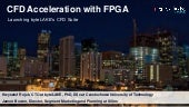 CFD Acceleration with FPGA (byteLAKE's & Xilinx's presentation from H2RC workshop, SC19)