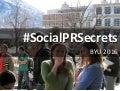 2016 Social PR Secrets, Trends and Faves