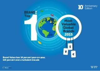 BRANDZ TOP 100 - Most Valuable Global Brands 2015