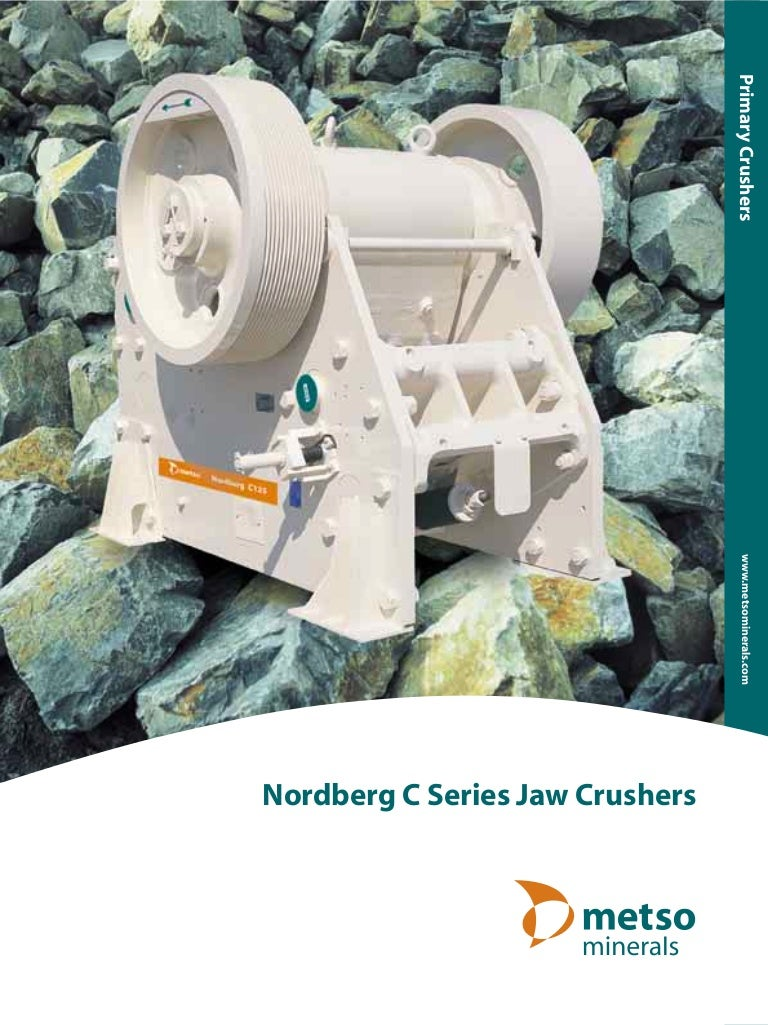 Metso C series jaw crusher Manual