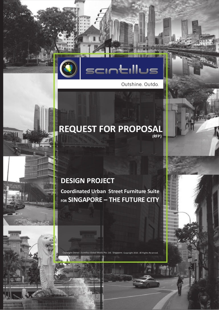 Request for proposal(RFP) Design project-Singapore-The