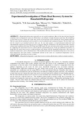 Thesis on waste heat recovery