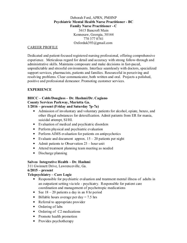cover letter template nurse practitioner health nurse nurse sample psychiatric nurse practitioner resume resume - Psychiatric Nurse Cover Letter