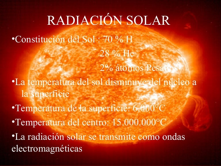 Resultado de imagen de La temperatura en la superficie del Sol