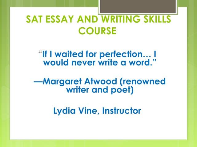 essay sat essay and essay skills - Copy - Copy - Copy