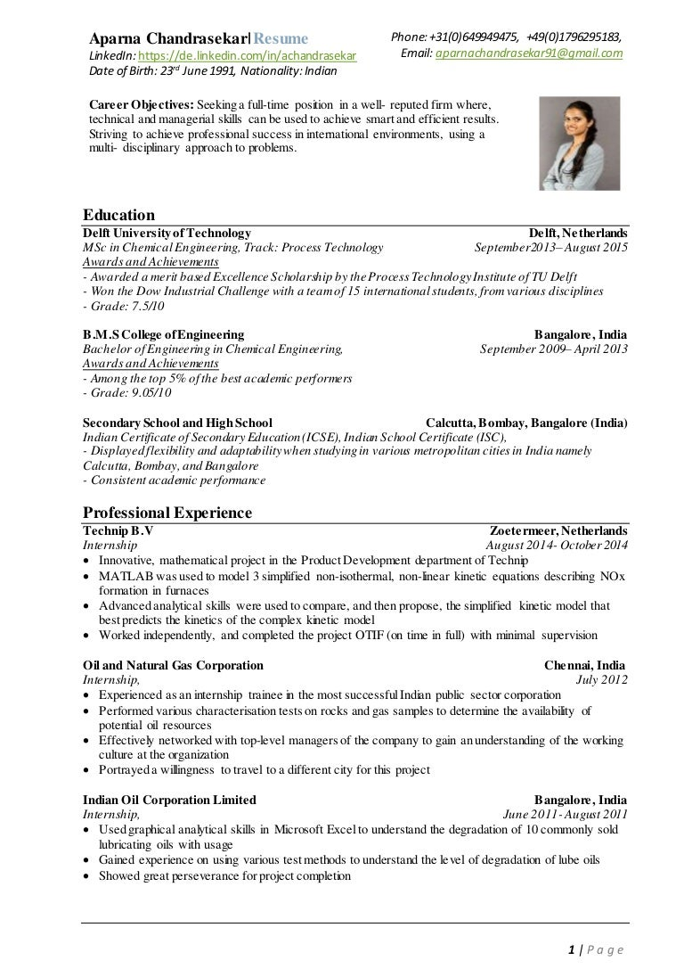 AparnaChandrasekar-Resume