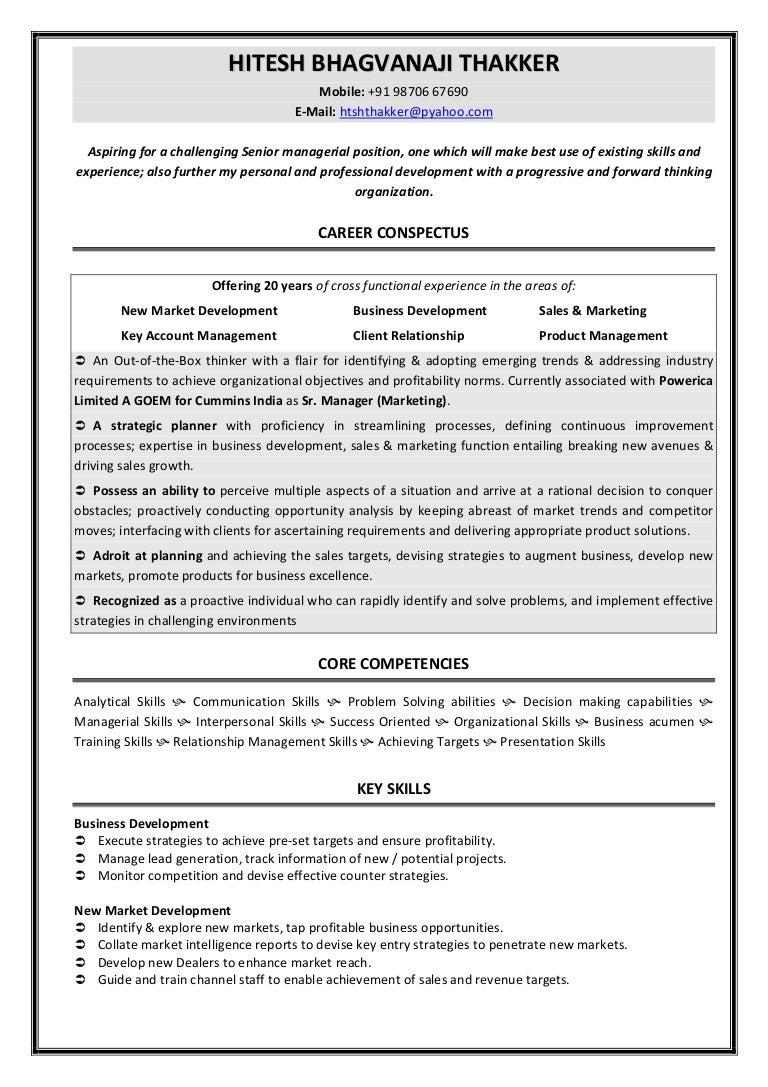 resume new 2014
