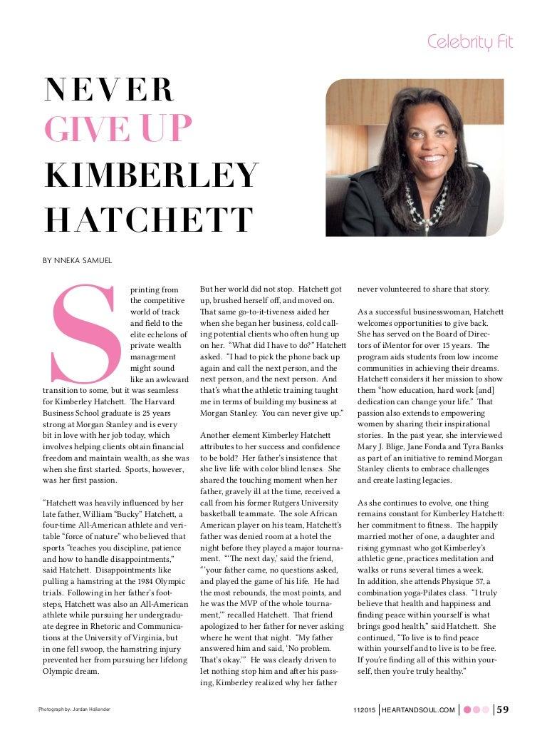 Heart & Soul - Kimberley Hatchett