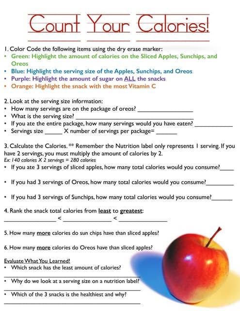Worksheets Calorie Worksheet count worksheet delibertad calorie delibertad