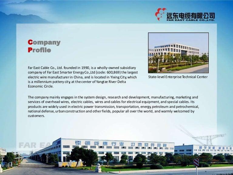 Far East Cable Profile