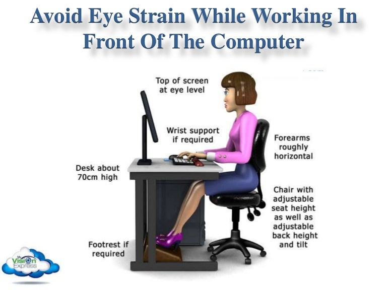 Avoid Eye Strain While Working In Front Of The Computer