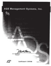 1page Lead Auditor AS9100C ISO9001 RABQSA Training Certificate8-20-2012
