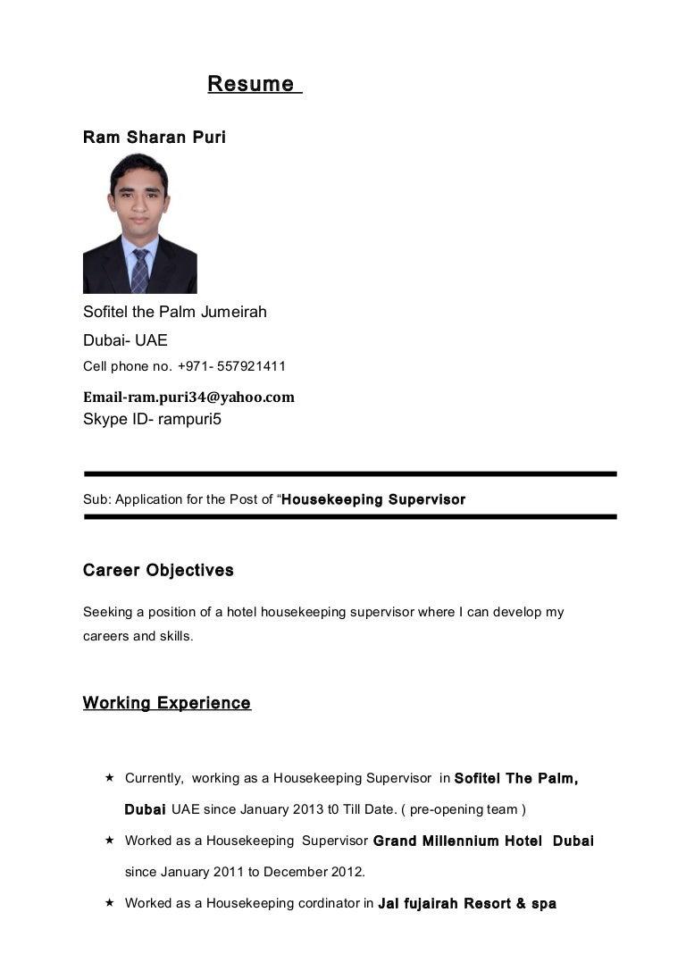 ram puri cv manager