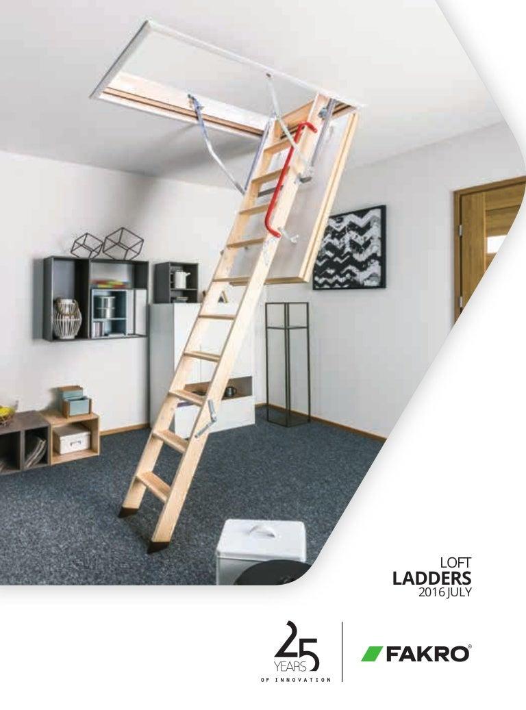 2016 fakro loft ladder catalogue