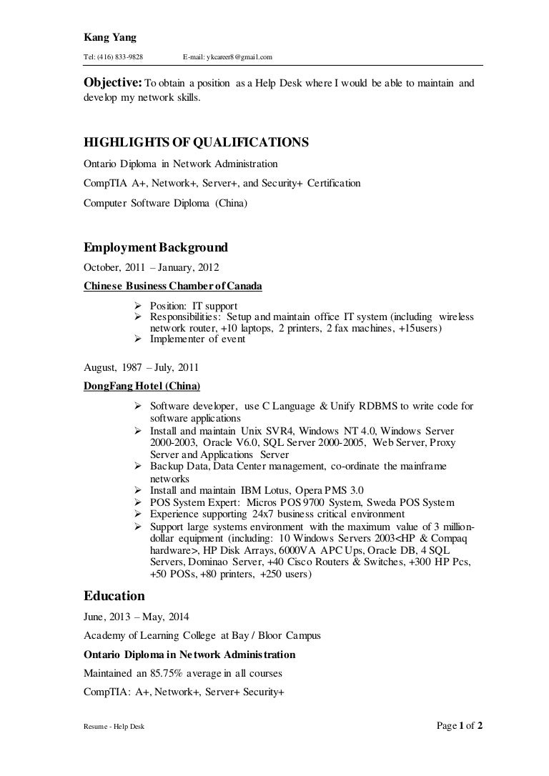 Resume Powerful Verbs Virtren
