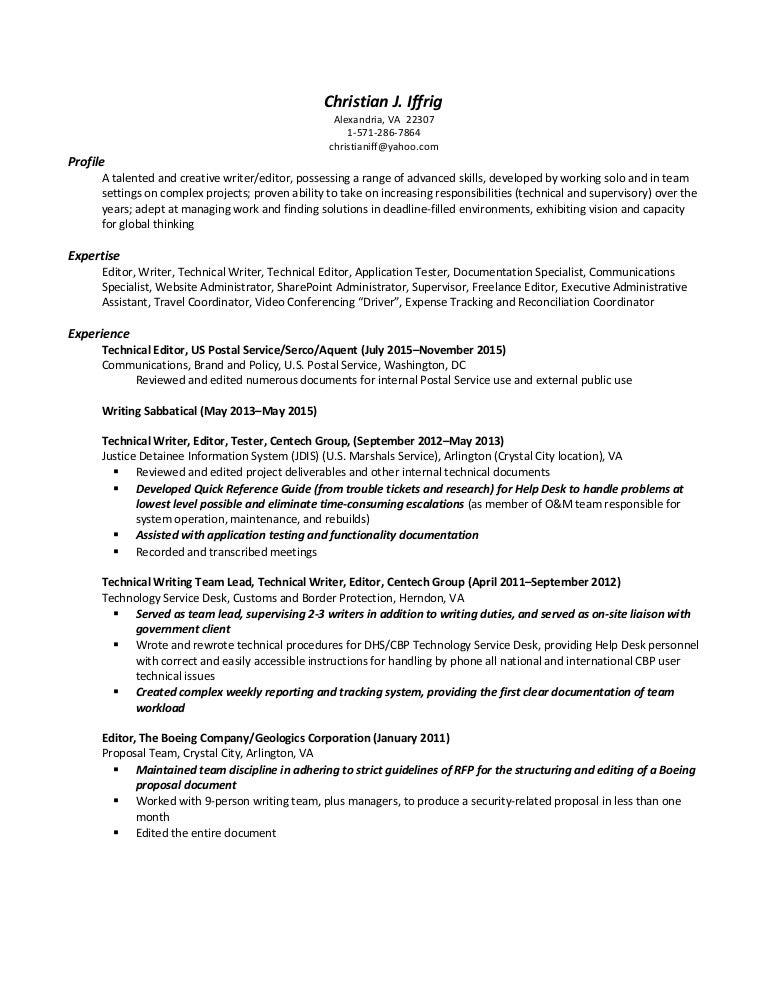 iffrig christian resume august 2015