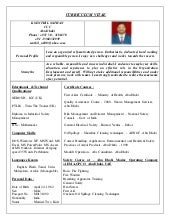 cv for safety officer 1