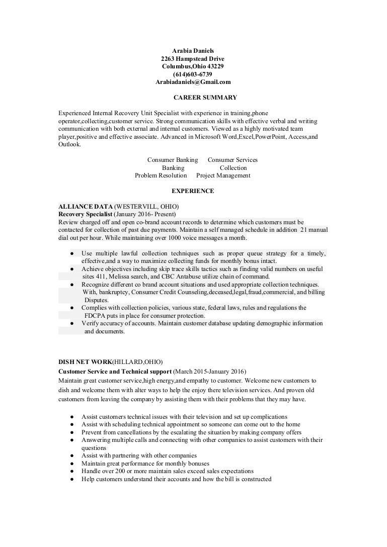 Resume 1betcityfo Choice Image