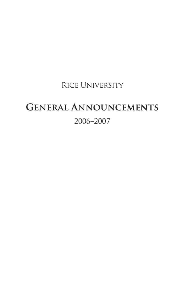 rice university 2006-07-full pdf, Presentation templates