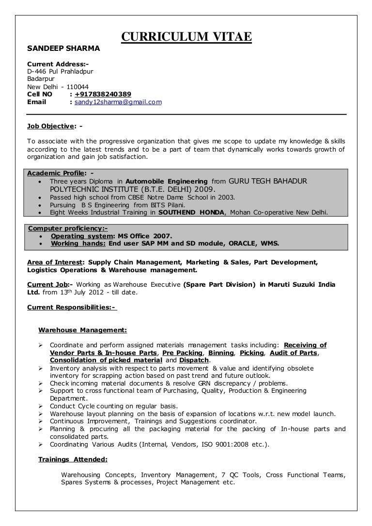 Full poly resume scope