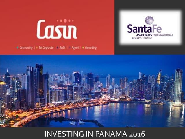 Investing in Panama 2016