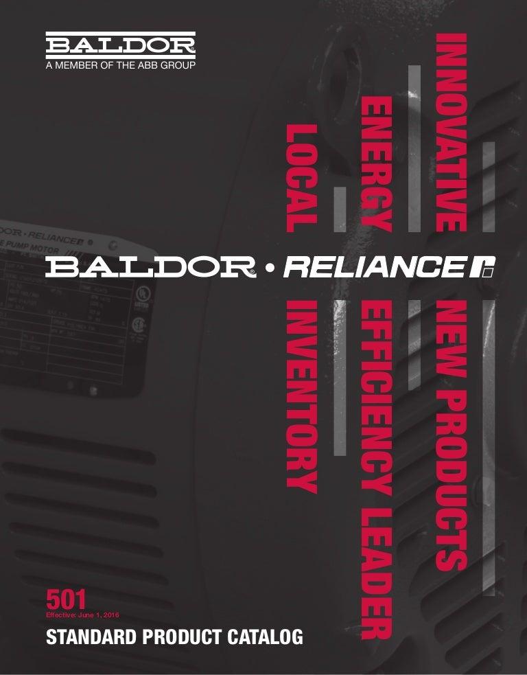Каталог Baldor Ca501 on