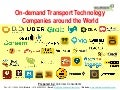 On-demand Transport Technology Companies around the World - Top 30 Players