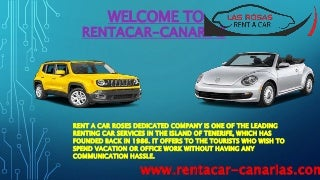 Cab hire in Tenerife