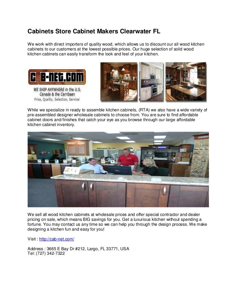 Cabinets Store Cabinet Makers Clearwater Fl